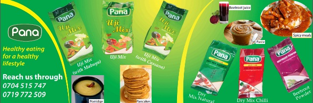 pana products normal banner design