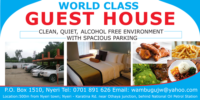 a guest house banner